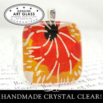 Handmade Clear Glass Squares