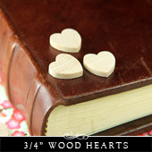Wood Hearts and Shapes