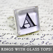 How to Make a Glass Topped Bezel Cup Ring