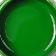 Glass paint - green
