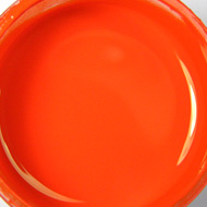 Glass paint - orange